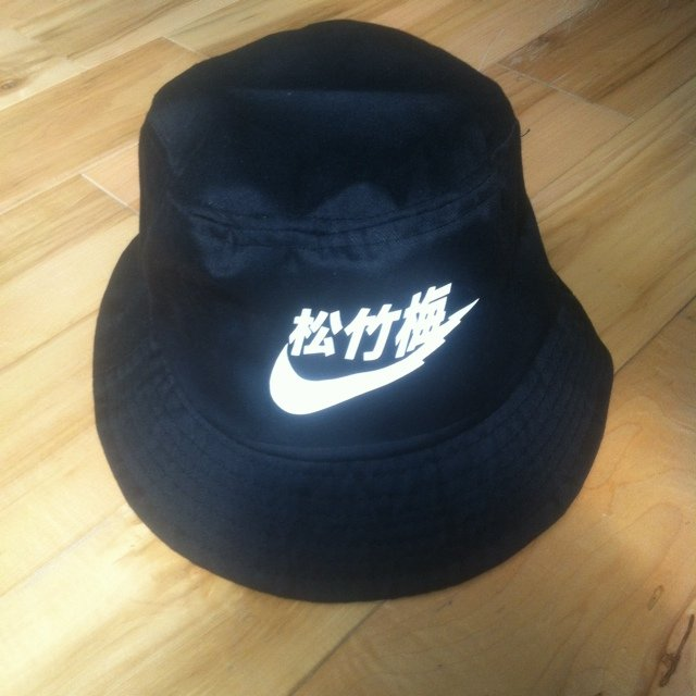 Black Very Rare  Nike  bucket hat  kyc  buckethat  bucket - Depop e1a1b467b4e