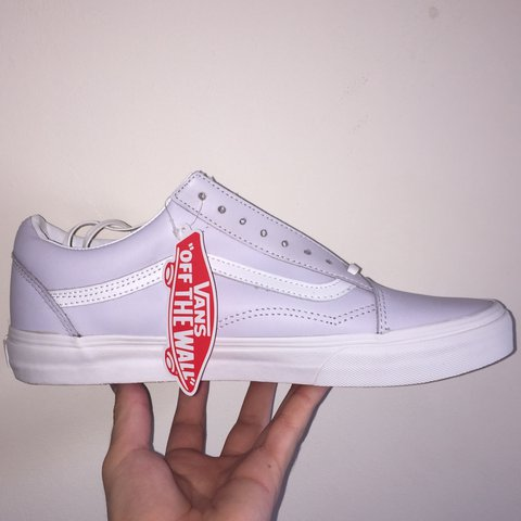 1c1bfcd8c1ef4f Old Skool Vans with zip Purple Size  UK9 Brand new in worn - Depop