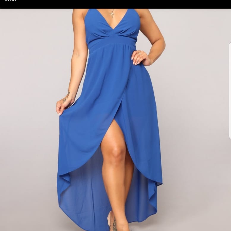 Royal Blue Dress from Fashion nova over 30 USD , Depop