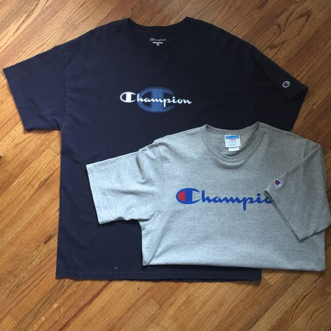 5a61e780d @dougakagod. last year. Minneapolis, United States. Champion T-Shirt  bundle. Size Large