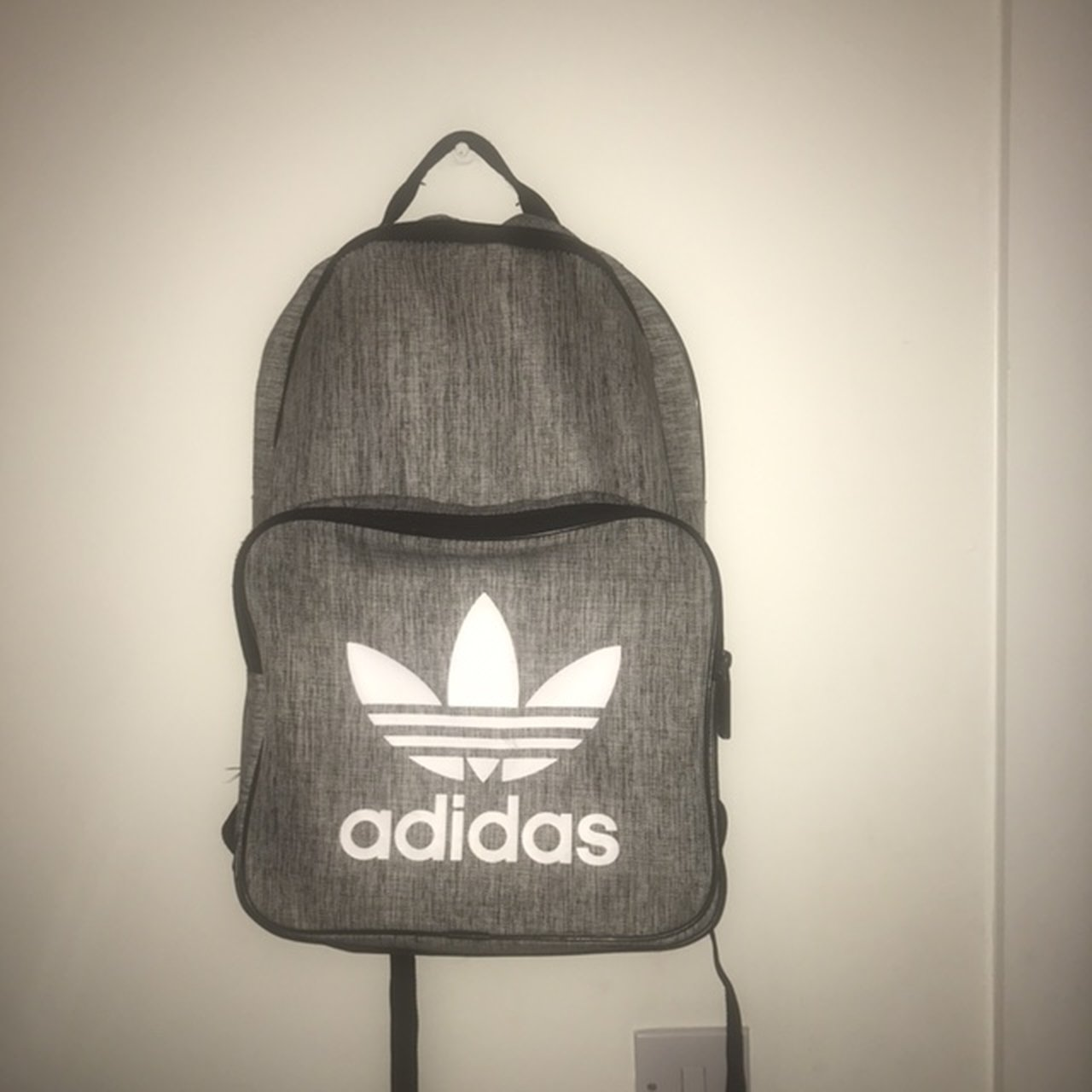 99faeed7c182 Grey adidas backpack. Bought for £30