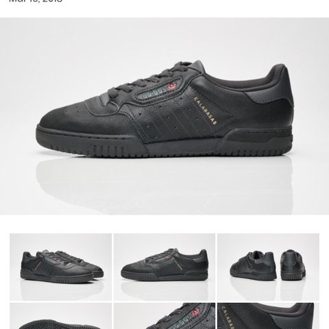 c4a124dd5c6 Adidas Yeezy Powerphase Calabasas Black UK 10 DS From JD me - Depop