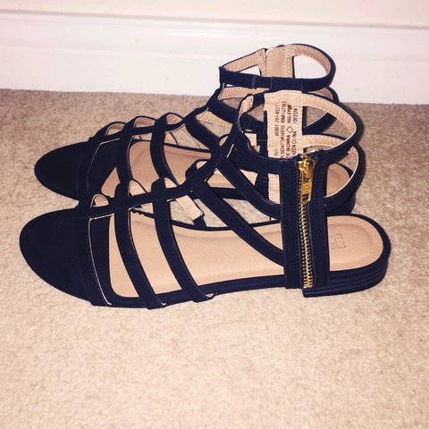 bc4627d379b9 Caged sandals in black. Size 6. Only worn once in the house