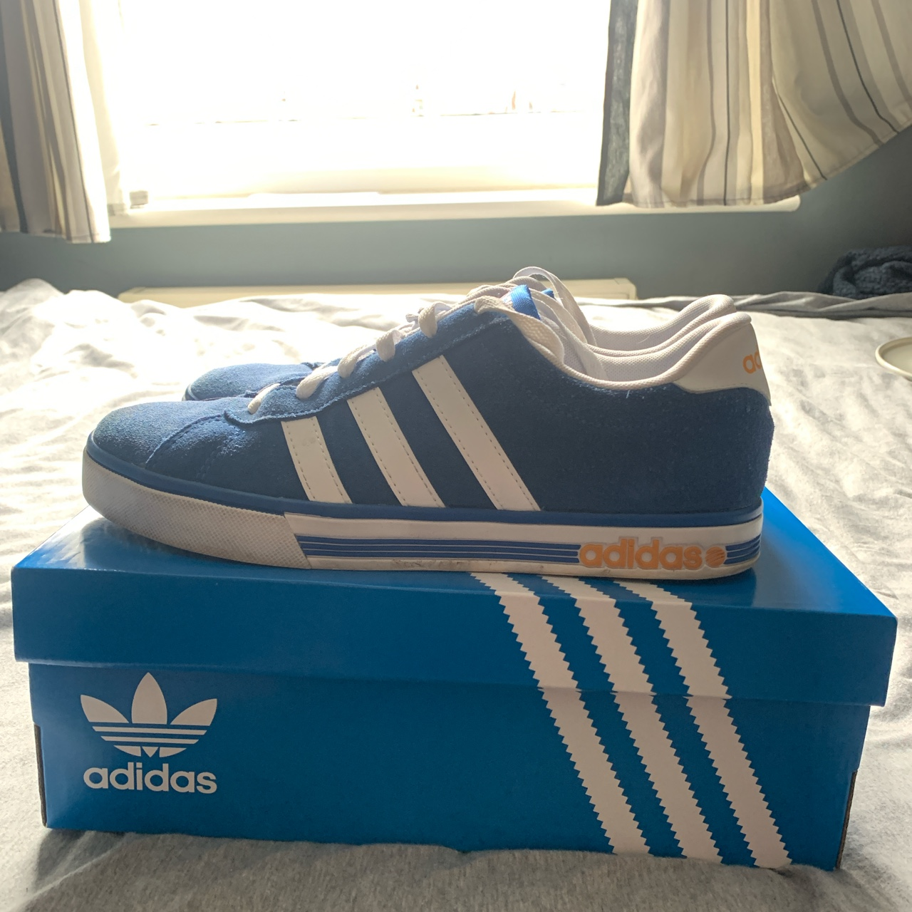 Adidas NEO Suede trainers | Blue | Size 8.5 UK |...