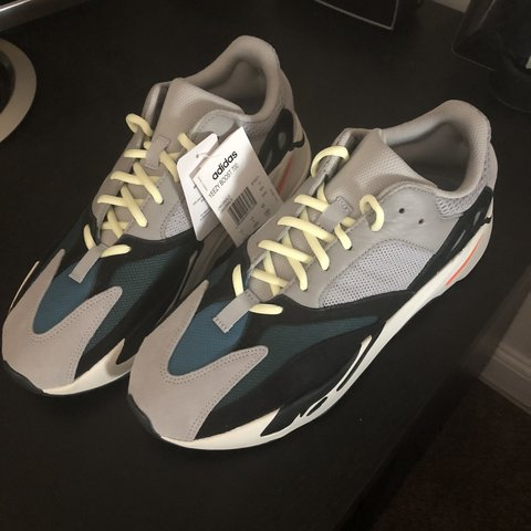 best service 742d3 b7631  hobthon. 7 months ago. York, United Kingdom. Adidas Yeezy Boost 700 Wave  Runner, UK size 11.
