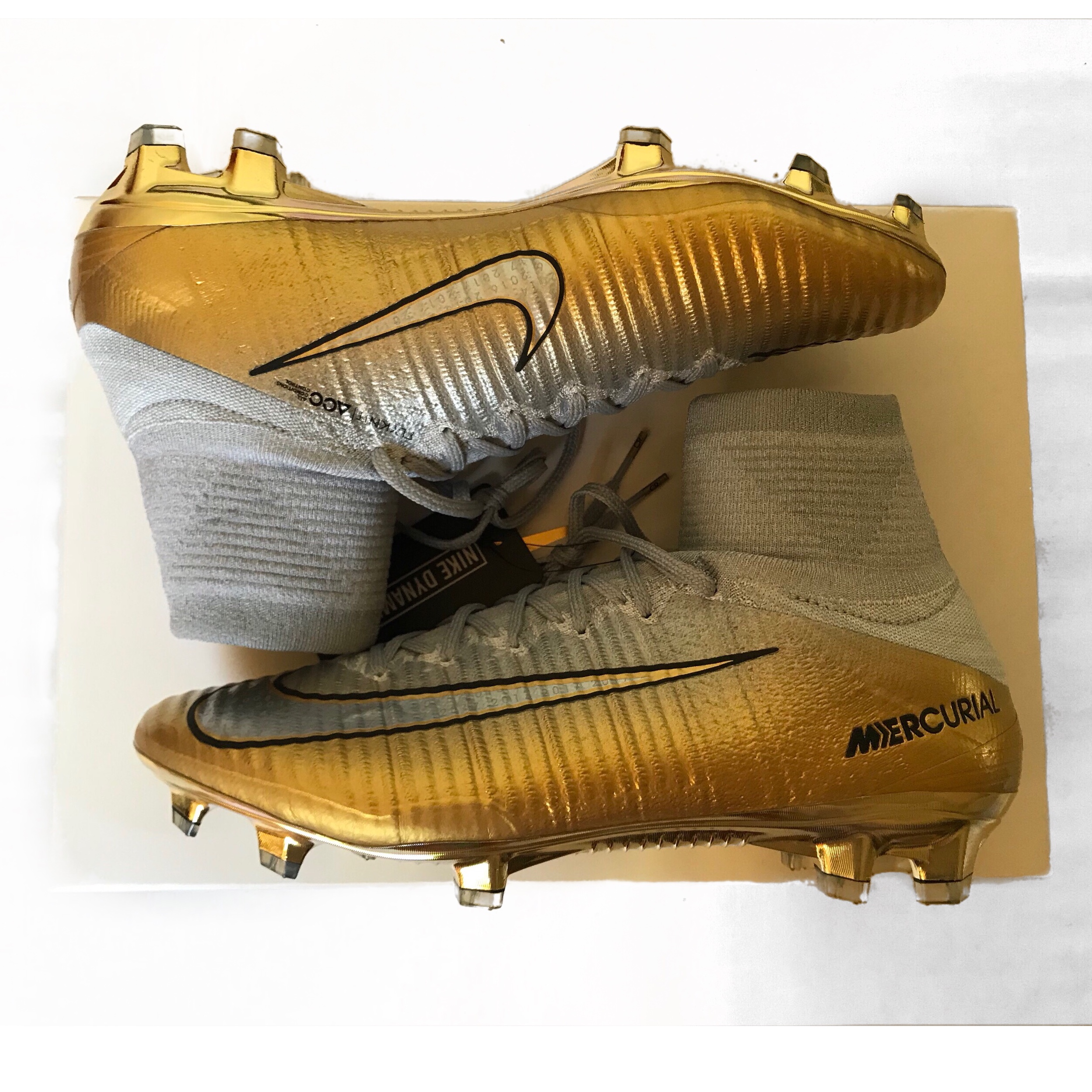 Yellow Nike Mercurial Superfly OIS Group