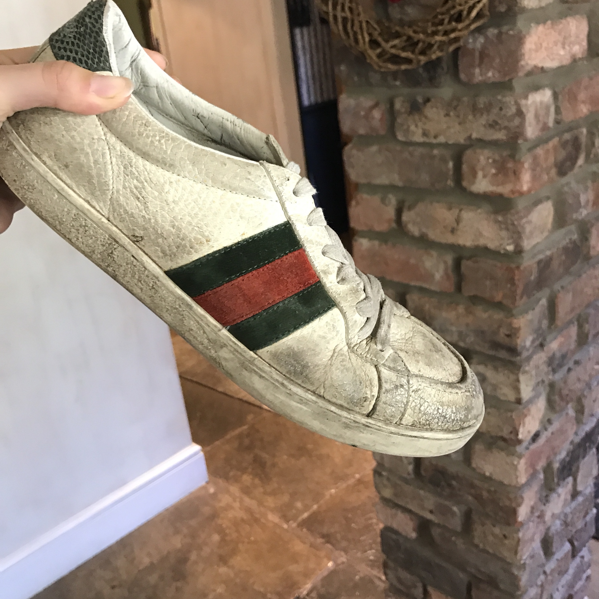 GUCCI trainers. Two years old. Need a