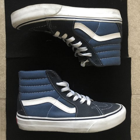 347a8a8aee Vans sk8 highs These are the slims Mens 3.5   womens 5 like - Depop