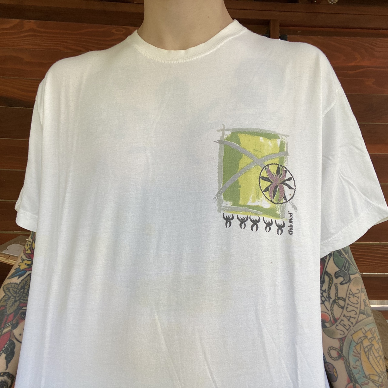 • vintage 90's CLUB MED mexico graphic tee shirt