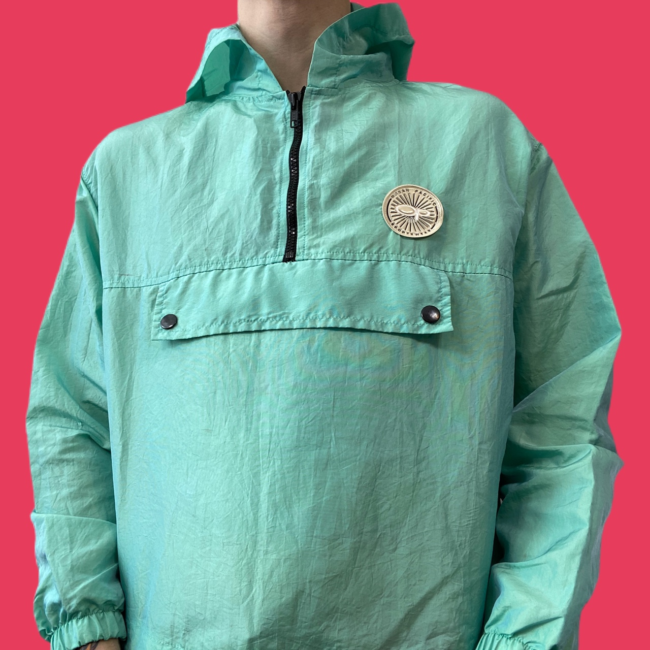 • vintage 90's lightweight sea foam green OCEAN PACIFIC