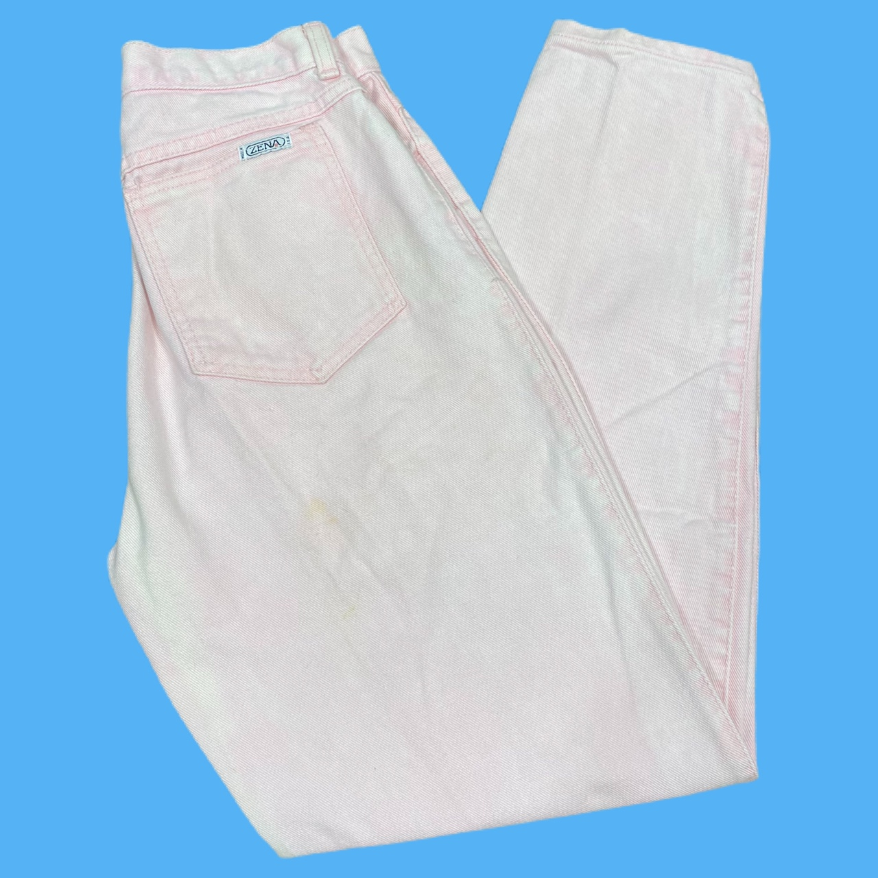 • light pale pink vintage 90's made in usa