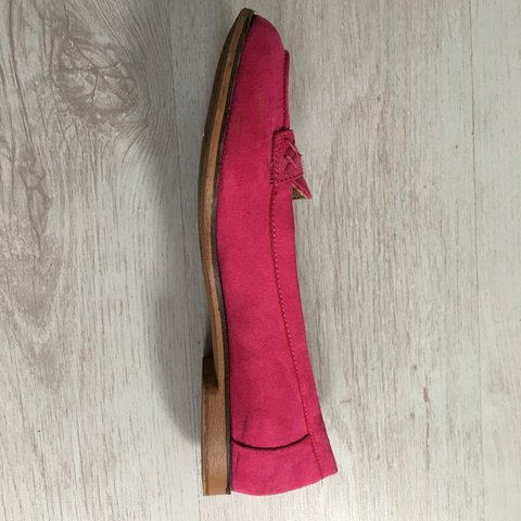 a241dd7be2d NEXT hot pink brogues   flat shoes   size 5 Barely worn - a - Depop