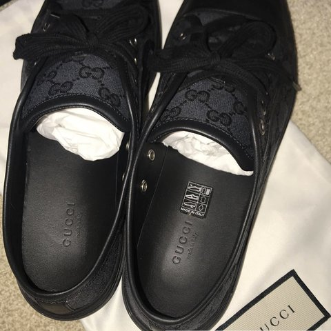 6a4c437799f Gucci trainers brand new never been worn size uk8 Selling 2 - Depop