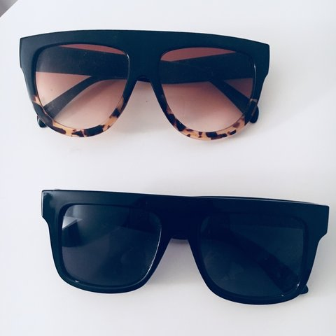 0a41e8653b  isabelacolon. 9 months ago. United States. Flat top square lens sunglasses  2 pack. Similar to Celine ZZ ...