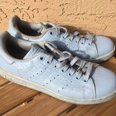 a04731943920 Baby blue Stan Smith Adidas sneakers