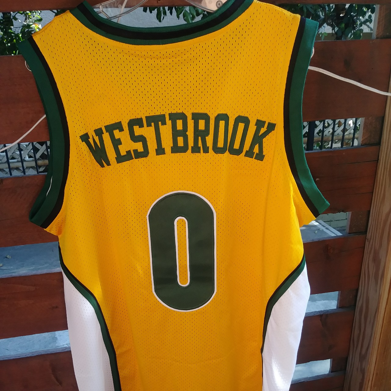 buy online 8e1f1 5e1dc Rare Russell Westbrook Seattle Supersonics Draft... - Depop