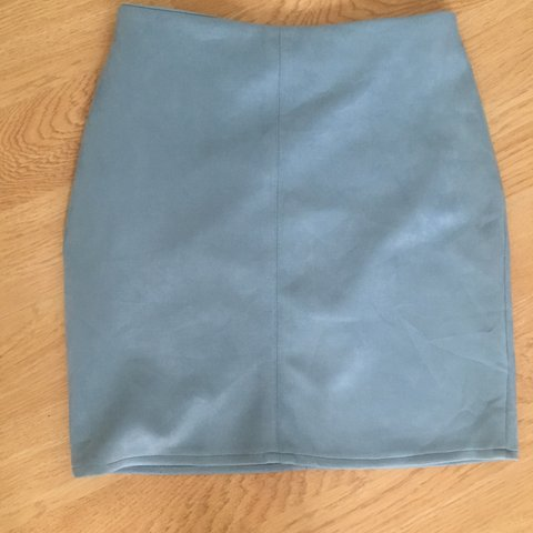 8fa5f88763 @eimearrodgers123. 11 months ago. Craigavon, United Kingdom. Misguided baby  blue faux suede skirt. Size 8. Perfect condition worn once
