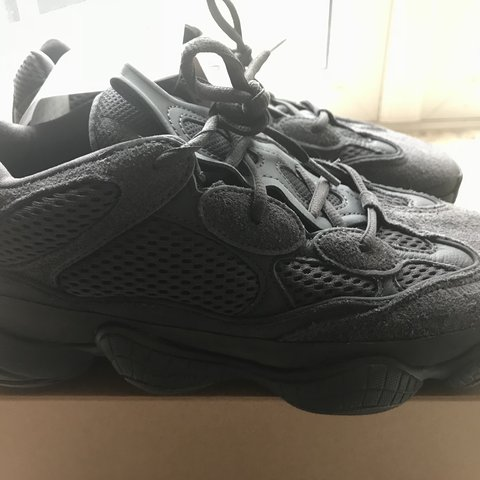 071618bedc6c0 Adidas yeezy 500 Utility black Original receipt! Open to 8 - Depop