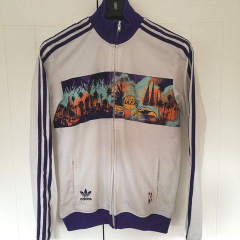 7b33fd4e90c RESERVED for @shanemci99 Incredible rare vintage Adidas NBA - Depop