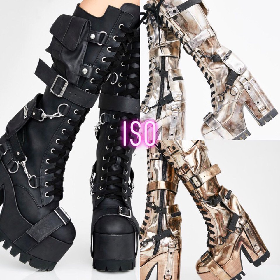 ISO DO NOT BUY wasteland buckle boots