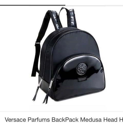 ea338ad1e3b2 REDUCED Authentic Versace backpack bag never used comes - Depop