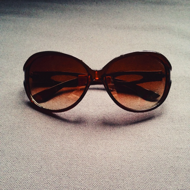A Cutout Sunglasses On The Bourjois Brown ArmsDepop With wZPiTkuOX