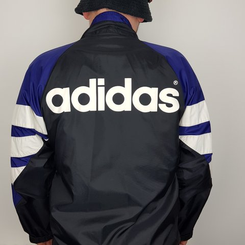 7787458ac Adidas jacket Adidas windcheater Adidas waterproof Usually - Depop