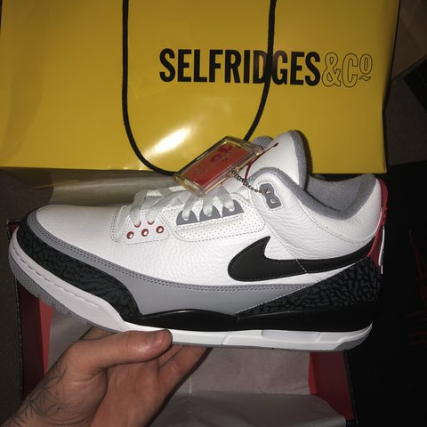 8fea5032f74 @aliciascarlet. 9 months ago. Leicester, United Kingdom. £190 TODAY ONLY Nike  Air Jordan 3 retro tinker Hatfield NRG DSWT