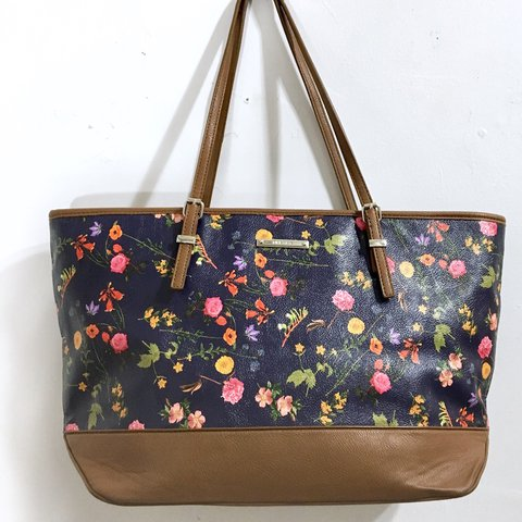 f0cd342feb9 Great large floral tote bag from Nine West