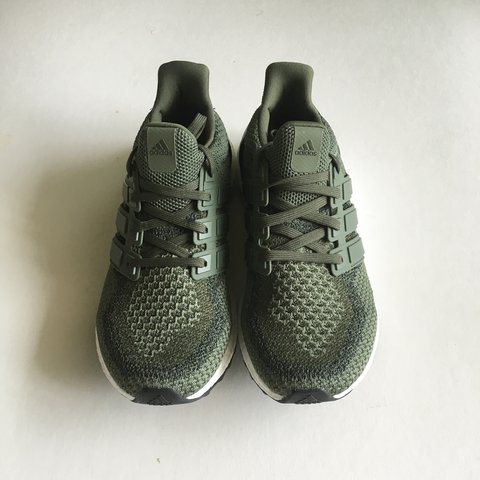 1cbd3529eb5 VNDS Adidas Ultraboost 2.0 Pine Green in size 9. Condition - Depop