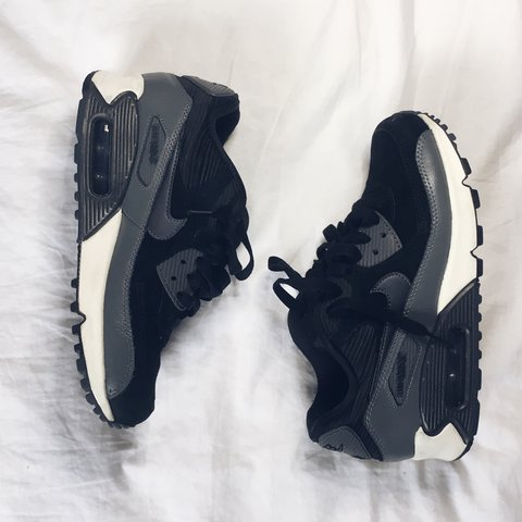 02afd51a69b0 Nike air max Suede and satin Detail only selling because in - Depop