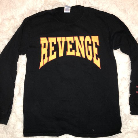 "0c6af7591a80 Bootleg drake ""Summer Sixteen"" long sleeve tee. ""Revenge"" on - Depop"