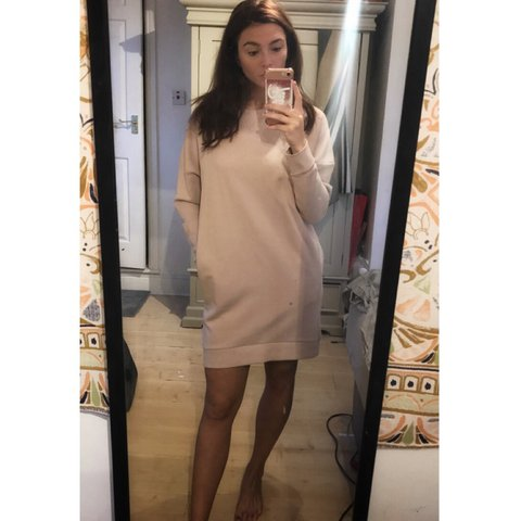 399b6538b72 COS sweatshirt jumper dress with pockets. Size XS fits 6-10. - Depop