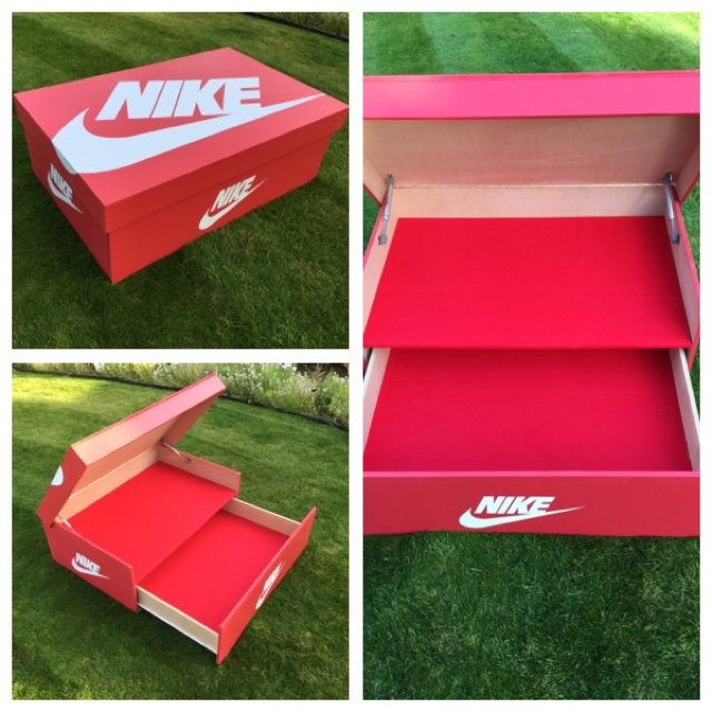 sc 1 st  Depop & THE BIG SHOE BOX. SHOE STORAGE FOR UP TO 16 TRAINERS. FREE - Depop
