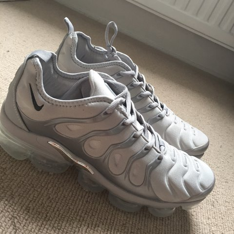 d75d8aed62d06 Nike Vapormax Plus - Cool Grey UK-11/US-12/EU-46/ Never Used - Depop
