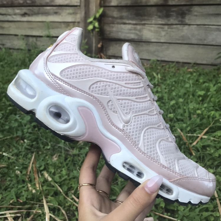 online retailer best deals on 100% high quality Pearl pink air max plus // Nike tn's // Nike tuned.... - Depop