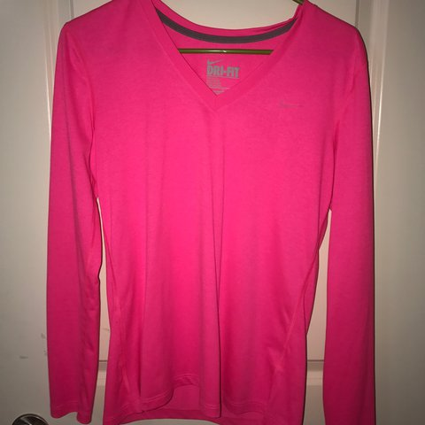 108954aa @morganlane4. 2 years ago. Tyrone, United States. Bright pink long sleeve  Nike shirt !! Perfect ...