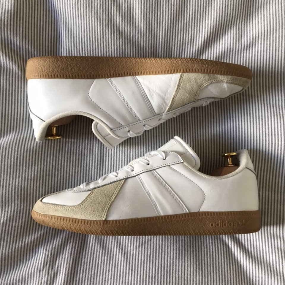 Adidas BW Army in White/Gum. Bought at
