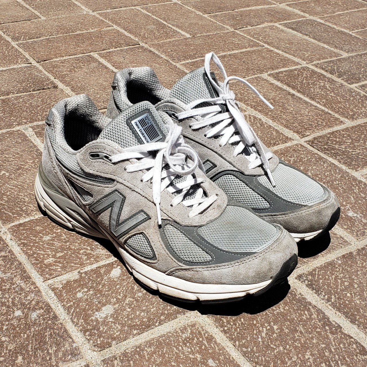 detailing 7be73 c01cc Grey New Balance 990s Great Comfort And Material... - Depop
