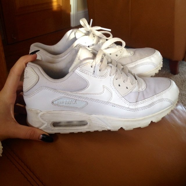 2d291950dc948 Nike air max 90 white. Good condition.  Most wanted  on RRP - Depop