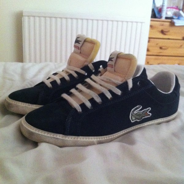 8153823645e Original Lacoste shoes size 7 1/2, men's but can be worn by - Depop