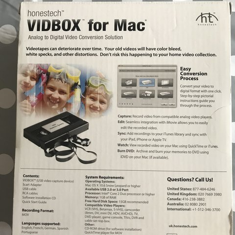 Analog To Digital Video Converter For Mac