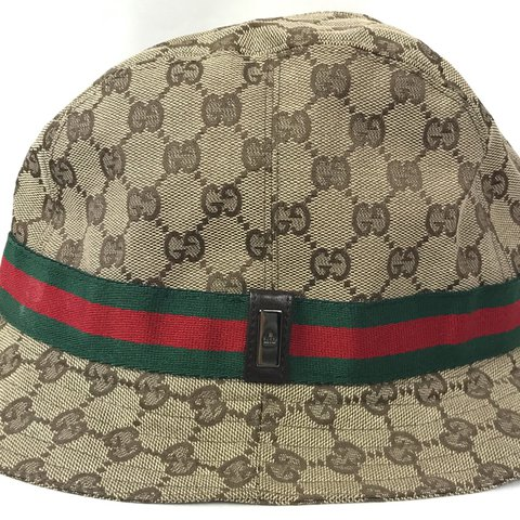 c4dd3b5ef86  kgmtl. last year. Canada. Authentic Gucci monogram hat. Size large.  Amazing condition ...