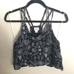 7c3377a62d2f7 Cute crochet crop tank Adorable crop tank with crochet on I - Depop
