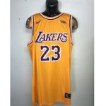 df05dfaaa 2019 Lakers Purple Authentic Jersey LeBron James  23 New! - Depop