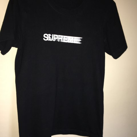 00ee795c @harrydunn03. last year. York, United Kingdom. Supreme motion tee 9/10  condition ...