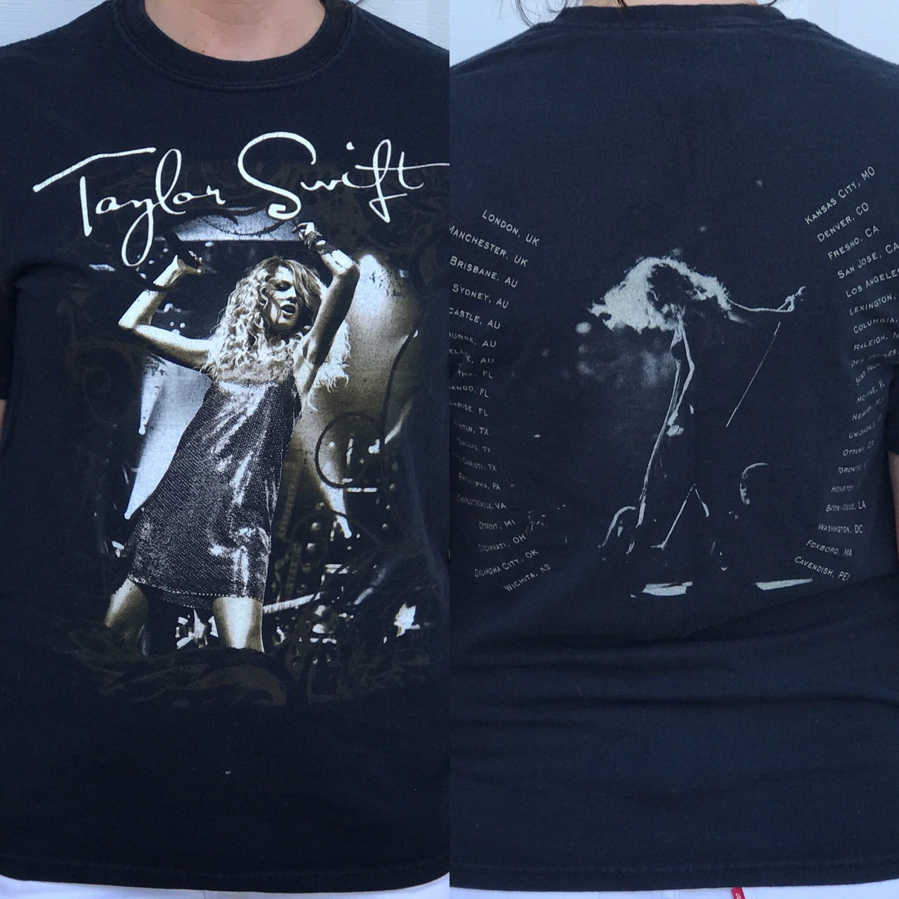 Rare Taylor Swift Concert T Shirt Before The Old Depop