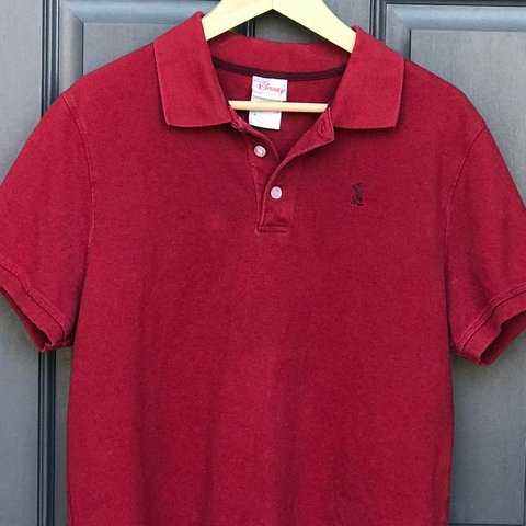 b7970d85 @radretroshop. 3 months ago. Parrish, United States. Red Disney Mickey  Mouse Polo Shirt.
