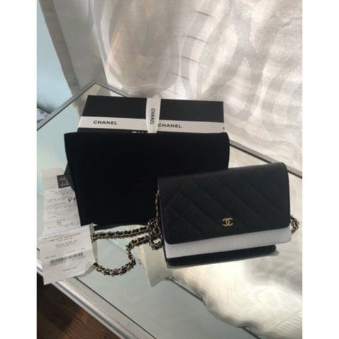 b80fd83933da58 This is the ultimate classic Chanel crossbody bag. It a with - Depop