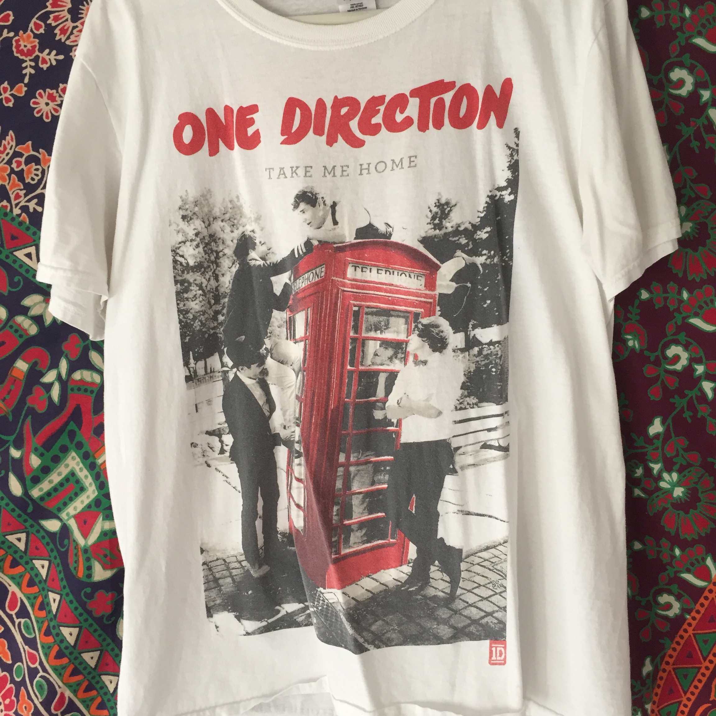 One Direction Take Me Home Tmh Official Tour Depop